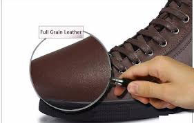 handmade genuine leather boots warm fur plus size men winter shoes full grain leather super warm