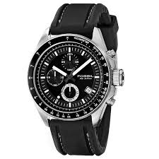 fossil decker men s black rubber strap watch h samuel fossil decker men s black rubber strap watch product number 8429839