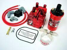 b msd ignition system 99 00 honda civic si b16 msd external coil red distributor cap conversion kit
