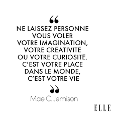 Mae C Jemison Reconfort Citation Belles Citations Et Citation