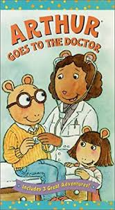 Amazon.com: Arthur - Goes to the Doctor [VHS] : J.T. Turner ...