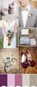 Lavender & Plum with a Touch of Grey - Wedding Colour Inspiration