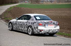 BMW Convertible bmw 4 series convertible white : Alpine White BMW 4 Series Convertible Spied During Testing BMW ...
