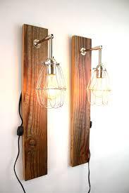 Splendid Wood Wall Sconce With Modern Wood Wall Sconce Modern Oak