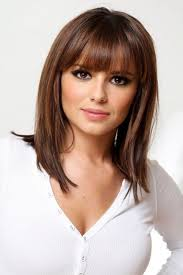 Medium Hairstyles For Thin Hair 40 Best Medium Length Hairstyles With Bangs For Fine Hair Beauty