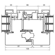 Detailzeichnungen Holz Alufenster Duoline 78 Fensterblickde