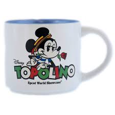 Kitchen & dining home holiday shop toys. Disney Coffee Cup Epcot World Showcase Italy Topolino Mickey