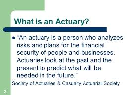 Actuarial Science An Introduction Ppt Download