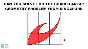 can you solve this th grade geometry problem from singapore the can you solve this 6th grade geometry problem from singapore the area of a claw