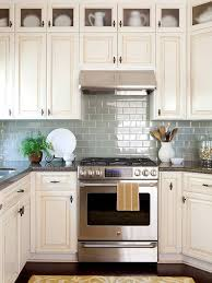 colorful kitchen backsplash ideas sage green bhg
