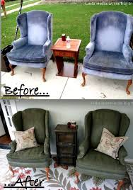 cloth chairs furniture. painted fabric chairs i had no idea you could paint cloth furniture