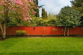 fence colour to make the garden look