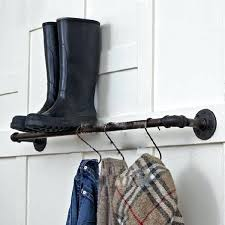 Retro Coat Rack Industrial Clothing Rack Home Iron Clothing Rack Wall Mounted Coat 94
