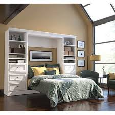 murphy bed furniture. Bestar Audrea Full Wall Bed With Two 25\ Murphy Furniture