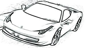 Ferrari Coloring Pages Pdf Coloring Pages Sports Cars Coloring Pages