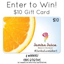 jamba juice gift card balance photo 1