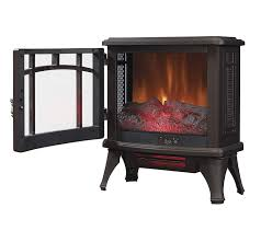 duraflame dfi infrared quartz fireplace stove electric heater bronze home kitchen target candle holder insert granite