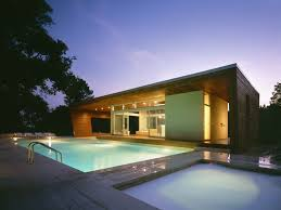 indoor pool house designs. Outstanding Swimming Pool House Design By Hariri \u0026 Architecture - DigsDigs Indoor Designs M