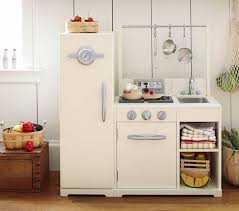 pottery barn kids all in one retro kitchen wooden play kitchens regarding the incredible and also