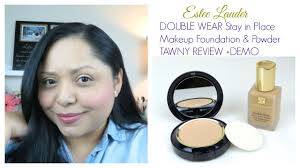 estee lauder double wear foundation review demo tawny