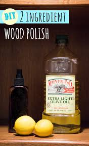 make your own wood polish with 2 simple ings so easy and is soooooo much