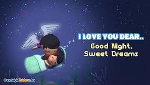 i love you dear good night sweet