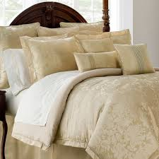 Isabella Gold Comforter Bedding From Marquis By Waterford - Isabella bedroom furniture