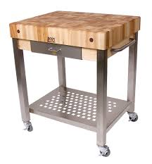Butcher Block Kitchen Island Butcher Block Kitchen Carts John Boos Catskill