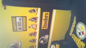 Steelers Bedroom Gavins Steeler Bedroom Youtube