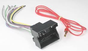 metra 70 9003 receiver wiring harness connect a new car stereo in car stereo wire connectors at Connecting Wire Harness To Car Stereo