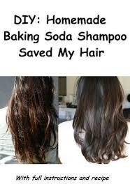 diy homemade baking soda shoo saved my hair ruffled hair haircare