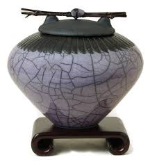 Decorative Urns For Ashes Keepsake Decorative Raku Urns Dodero Studio Ceramics Raku Pottery 7
