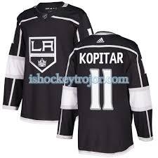 Angeles Svart Herr Los 11 Kopitar Kings Anze Authentic Adidas Tröja Nhl