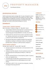 Career Objective For Real Estate Resume Property Manager Resume Example Writing Tips Resume Genius