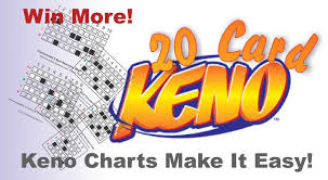Keno Smart Charts 20 Card Video Keno System Best Winning Strategy