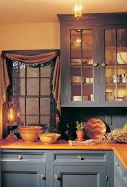 colonial blue kitchen cabinets