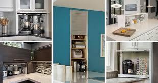 kitchen design idea your kitchen appliances in a dedicated appliance garage