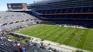 Chicago Bears Seating Chart Soldier Field Section 434 Home Of Chicago Bears