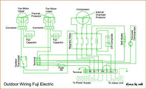 wiring diagram ac cassette fuji electric refrigeration air fuji electric wiring
