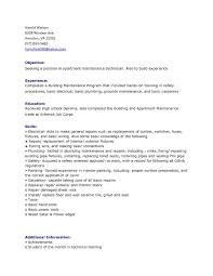 Resume Copy Maintenance Worker Resume Copy Resume Templates For Maintenance 45