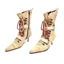 Light Tan Boots Diesel Light Tan Textured Suede Lace Up Pointed Boots Booties Size Us 7 Regular M B 64 Off Retail