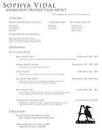 Resume Artful Raven Studio