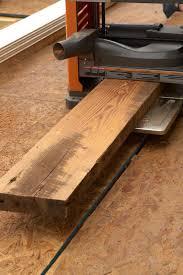 prepare wood