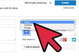 upload video to youtube private