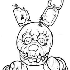 Five Nights At Freddy Coloring Pages Best Of Collection Fnaf Freddys