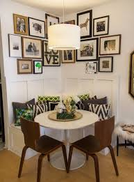 Pink Modern Farmhouse  Small Dining Room Ideas  Decorating Small Small Dining Room Ideas
