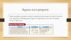 solving quadratic equations by finding square roots worksheet 2 4 completing the square ppt