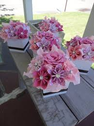 tissue paper flower centerpiece ideas paper flower table centerpieces 10 best images of paper flower