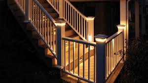 deck lighting. Deck Lighting At Night Deck Lighting