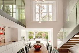 Contemporary Design of Victorian House in Notting Hill,luxury contemporary  home in London